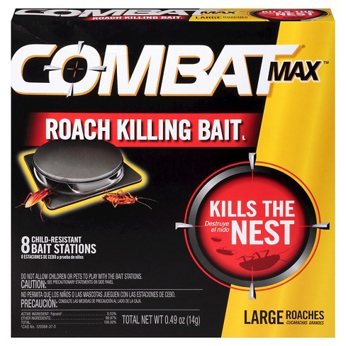 Combat Max brand bait for roaches