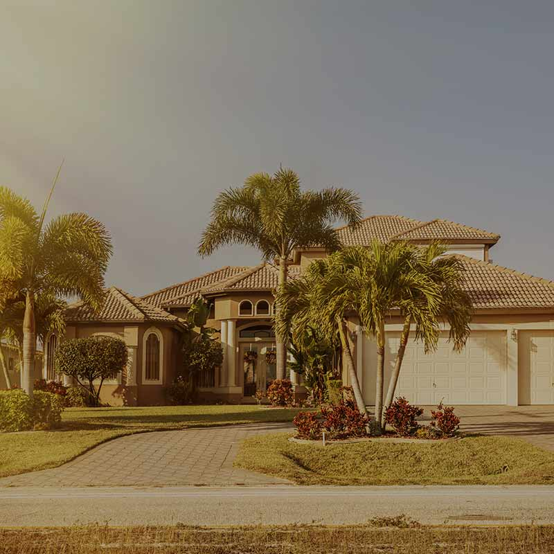 A Southwest Florida Home Where Home Watch Services is Performed
