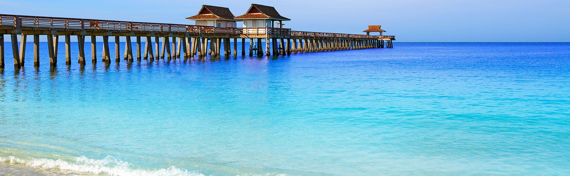 Naples Pier in Naples Florida