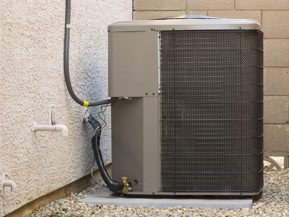 Condensate Line and HVAC Unit